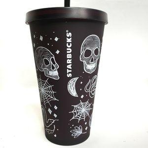 Starbucks Halloween 2019 Skull 16 Oz Tumbler Cup